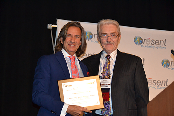 Prof. Javier Aragon-Sanchez, MD, PhD receives Paul Brand Award