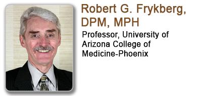 Robert G Frykberg, DPM, MPH