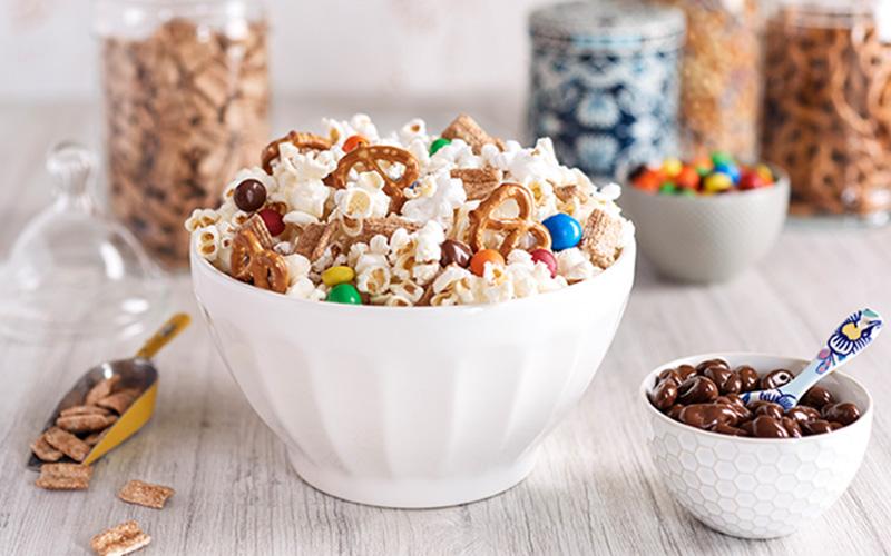 Sweet & Salty Popcorn for Movie Night
