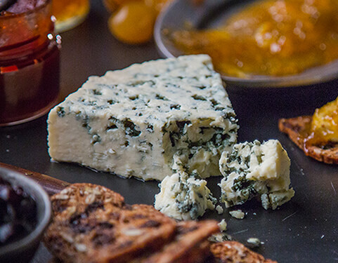 Imported Danish Blue Cheese