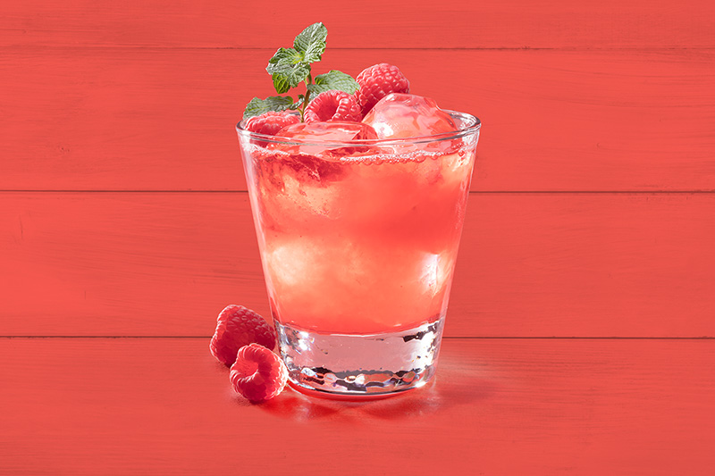 Bubbly Raspberry Spritzer