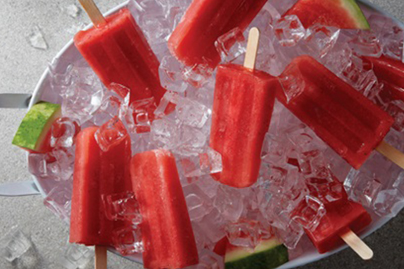 Watermelon Ice Pops