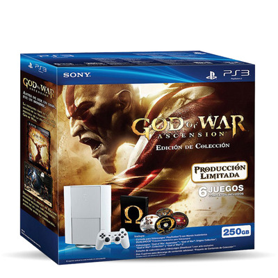 PlayStation 3 Edición Limitada God of War: Ascension