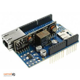 Arduino Ethernet Shield Rev 3.0 con Modulo PoE