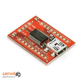 Breakout Convertidor de FT232RL USB a Serial