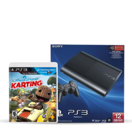 PS3 de 12 GB + LBP Karting