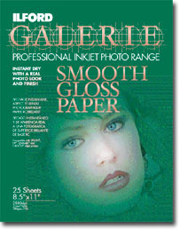 Smooth Gloss Photo Paper, 25shts, 13x19""