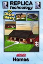 3D Homes - Lightwave, Mac/Win Dwnld