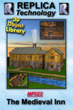 Medieval Inn - Lightwave, Mac/Win Dwnld
