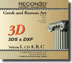Volume 1: Greek & Roman Art, 3DS+DXF, Mac/Win