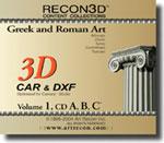 Volume 1: Greek & Roman Art, CAR+DXF, Mac/Win
