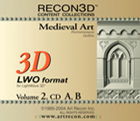 Volume 2: Medieval Art, LWO+DXF, Mac/Win