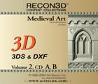 Volume 2: Medieval Art, 3DS+DXF, Mac/Win