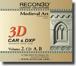 Volume 2: Medieval Art, CAR+DXF, Mac/Win