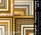 Digital Picture Frames Vol. 1, Super High Res., Mac/Win