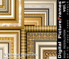 Digital Picture Frames Vol. 1, High Res., Mac/Win