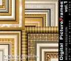 Digital Picture Frames Vol. 1, Med. Res., Mac/Win