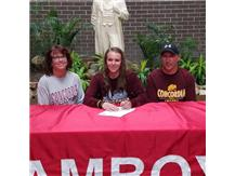 Kallie Appleman signs with Concordia to play Volleyball