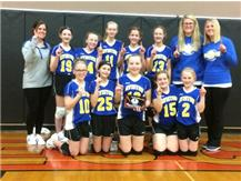 Wesclin 7th Grade Volleyball Tourney Champions
