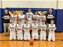 Boys Basketball hits the 800 win milestone!