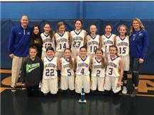 The Lady Eagles win the Woodlawn Ice Breaker Tournament for the 3rd straight year!