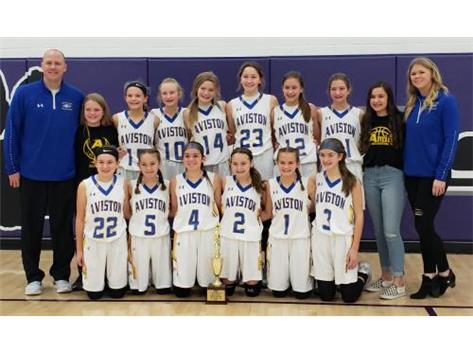 The Lady Eagles defeated Breese 45-31 in the Regional Championship.