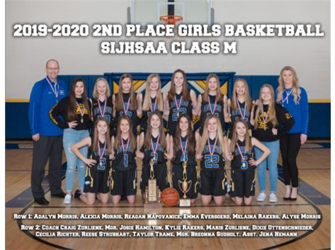 2019-2020 2nd in State SIJHSAA Class M