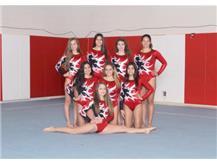 Girls Freshman Gymnastics