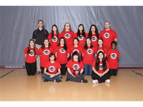2013-'14 Girls' Bowling Team