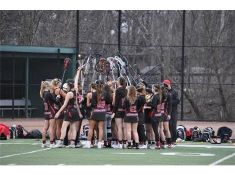 Team Huddle at Glenbard West