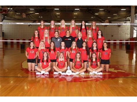 2017 Girls Varsity Volleyball