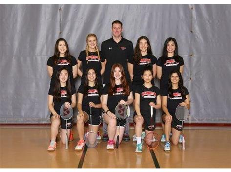 2019 Varsity Badminton