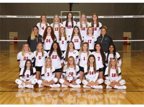 2019 Girls Varsity Volleyball