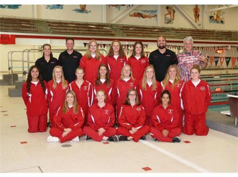 2019 Girls Varsity Swimming & Diving