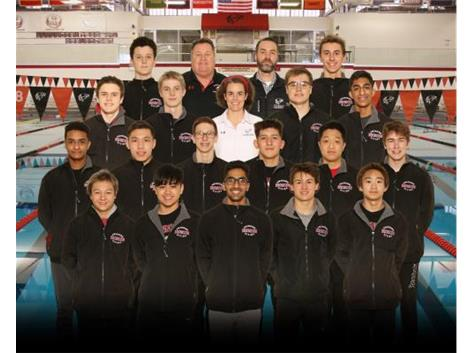 2020-21 Boys' Varsity Swimming and Diving