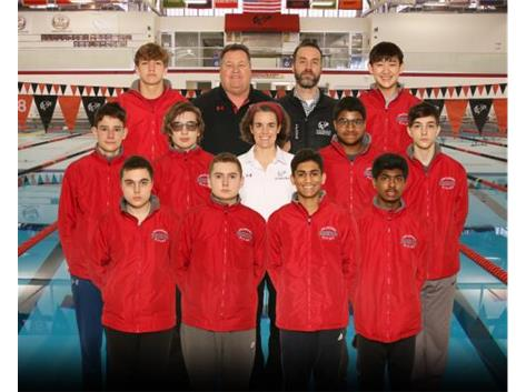 2020-21 Boys' JV Swimming and Diving