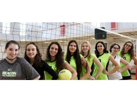 Beacon Academy 1st Senior Volleyball Class
