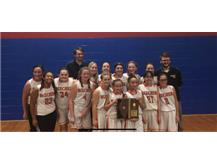 2019 7th Grade Girls Basketball Sectional Champions