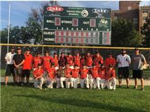 2019 JH Baseball Sectional Champions