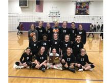 2020 8th Grade Volleyball Regional Champions