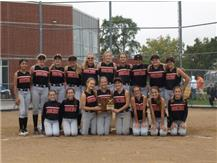 2020 Softball Class 2A Regional Champions