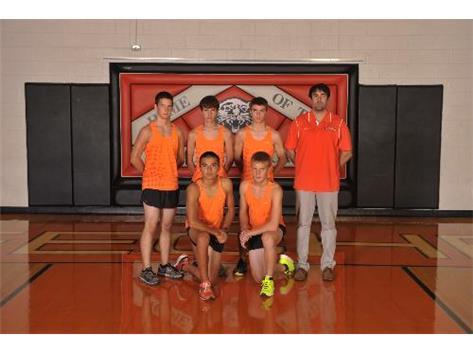 2013 Boys Cross Country Team