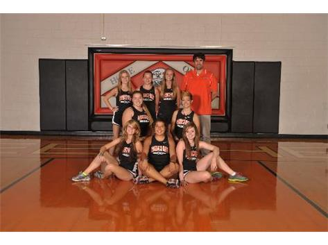 2013 Girls Cross Country Team