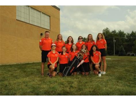 2018-2019 Girls Varsity Golf