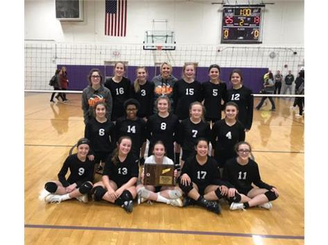 2020 8th Grade Volleyball Regional Champions