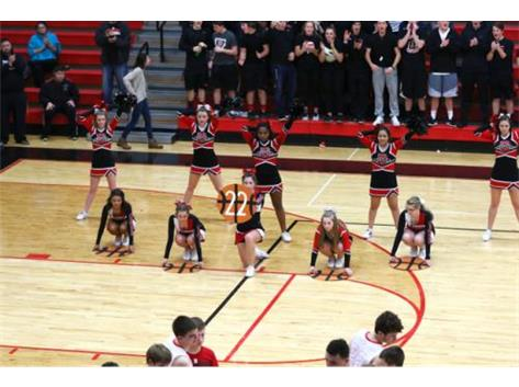 Cheer/Player Introductions