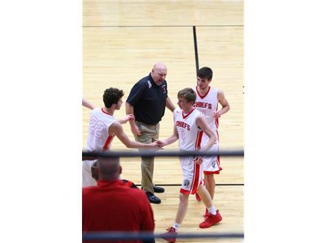 Coach Calton, Nolan, Nick and Dawsin