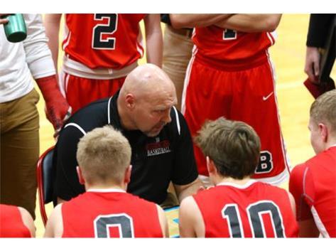 Coach Calton-time out