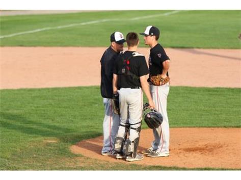 Coach Smith, Sam Martz and Dawson Miller