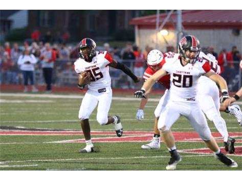 Tommy Belser leading the way for William Parsley